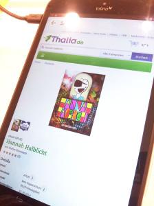 Kinder-Ebook Hannahhalblicht für Tolino