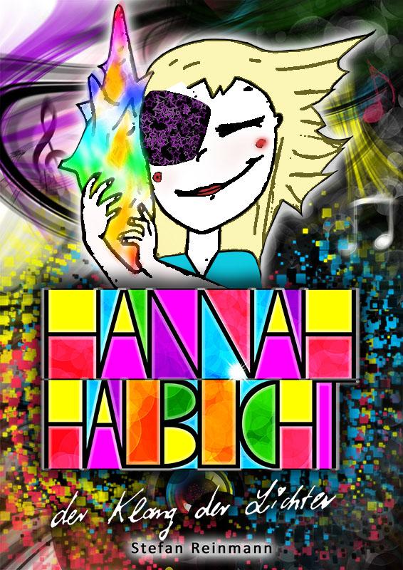 Cover des zweiten Buches der Hannah Halblicht-Reihe - Hannah Halblicht und der Klang der Lichter